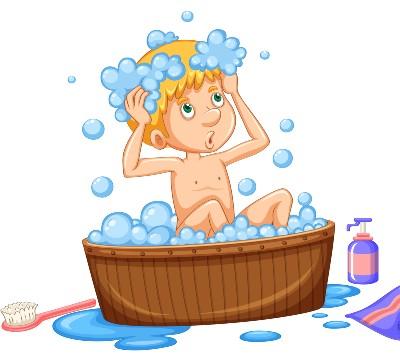 באמבטיה