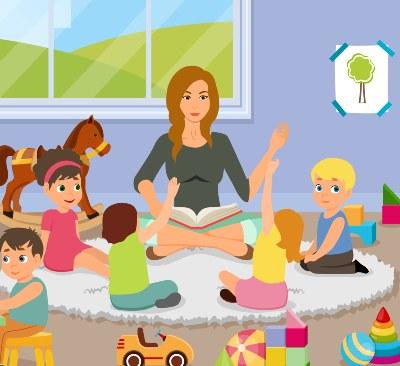 הקראה חוזרת בקבוצות קטנות והטרוגניות כאמצעי להעצמת והכלת ילדים עם קשיים  בגנים - קלודי טל על חינוך לגיל הרך