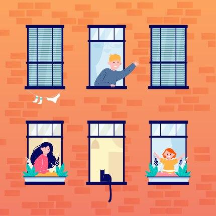 neighbors in windows