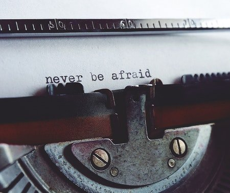 fear in the writing machine